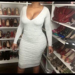 BAILEY Sexy Grey Dress